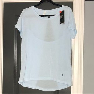 NWT Under Armour Revealed/Open Back Shirt